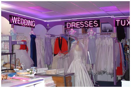 wedding stores